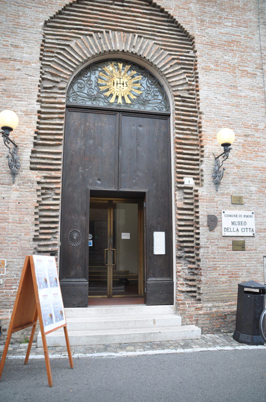 L'ingresso del Museo della Città