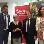 Da sinistra: Emanuele Magnani, Donata Monti, Luciano Goffi, Beatrice Braconi.